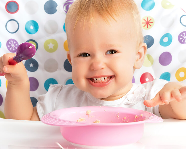 La alimentaci n del beb entre los 9 y los 11 meses - Bebe de 9 meses ...